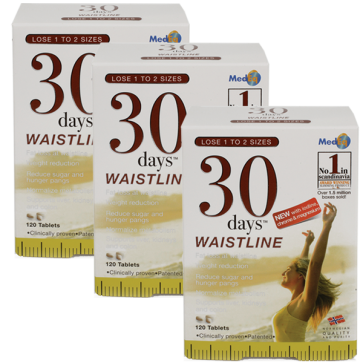 30days™ Waistline (Trio Pack)