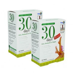 30days™ Hips, Buttocks & Thighs Twin Pack